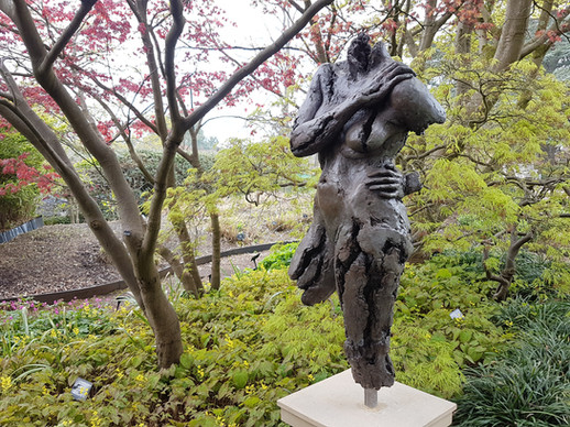 Persephone bronze, Bristol Botanic Gardens