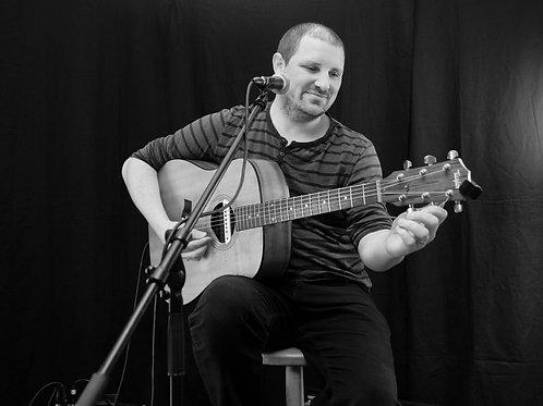 Matt Woosey - acoustic blues / rock - Sat 5th Dec