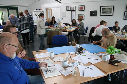 Hope & Renewal project Creative Wellbeing Workshop at CoLab in Exeter