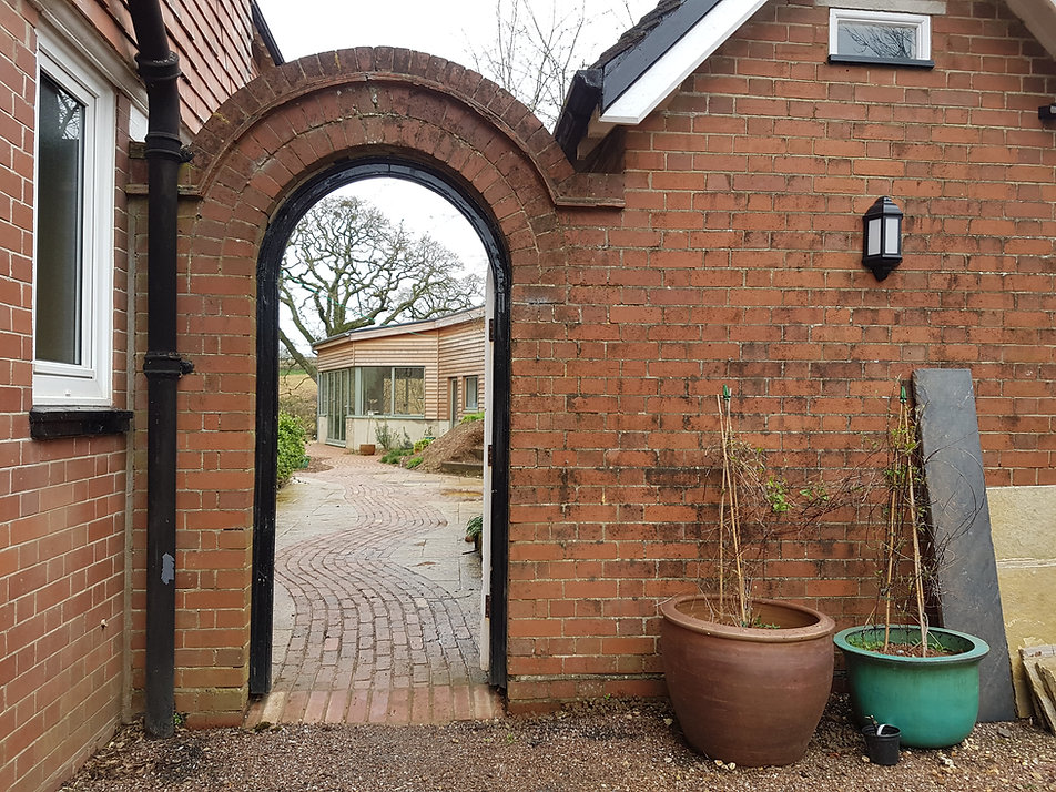 go through the arched door to a world of creative possibilities - beginners welcome