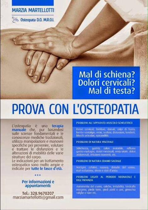 Marzia Martellotti - Osteopata