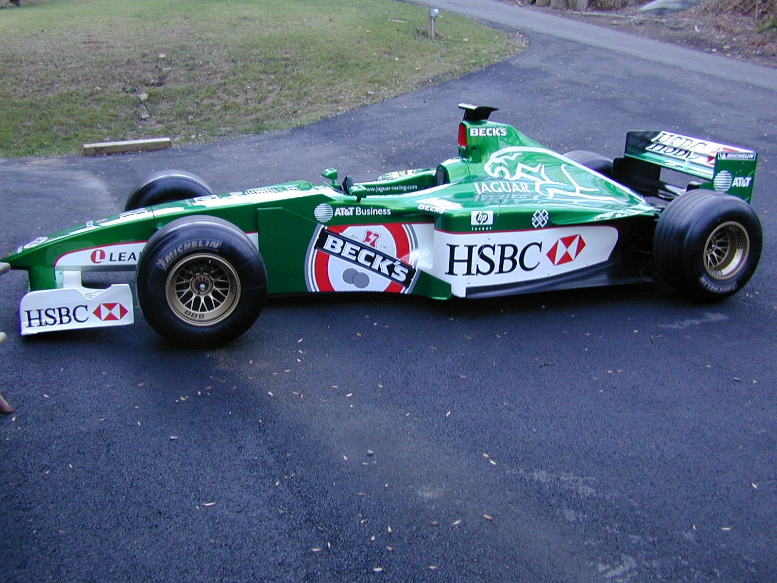 Jaguar Racing F1 Show Car