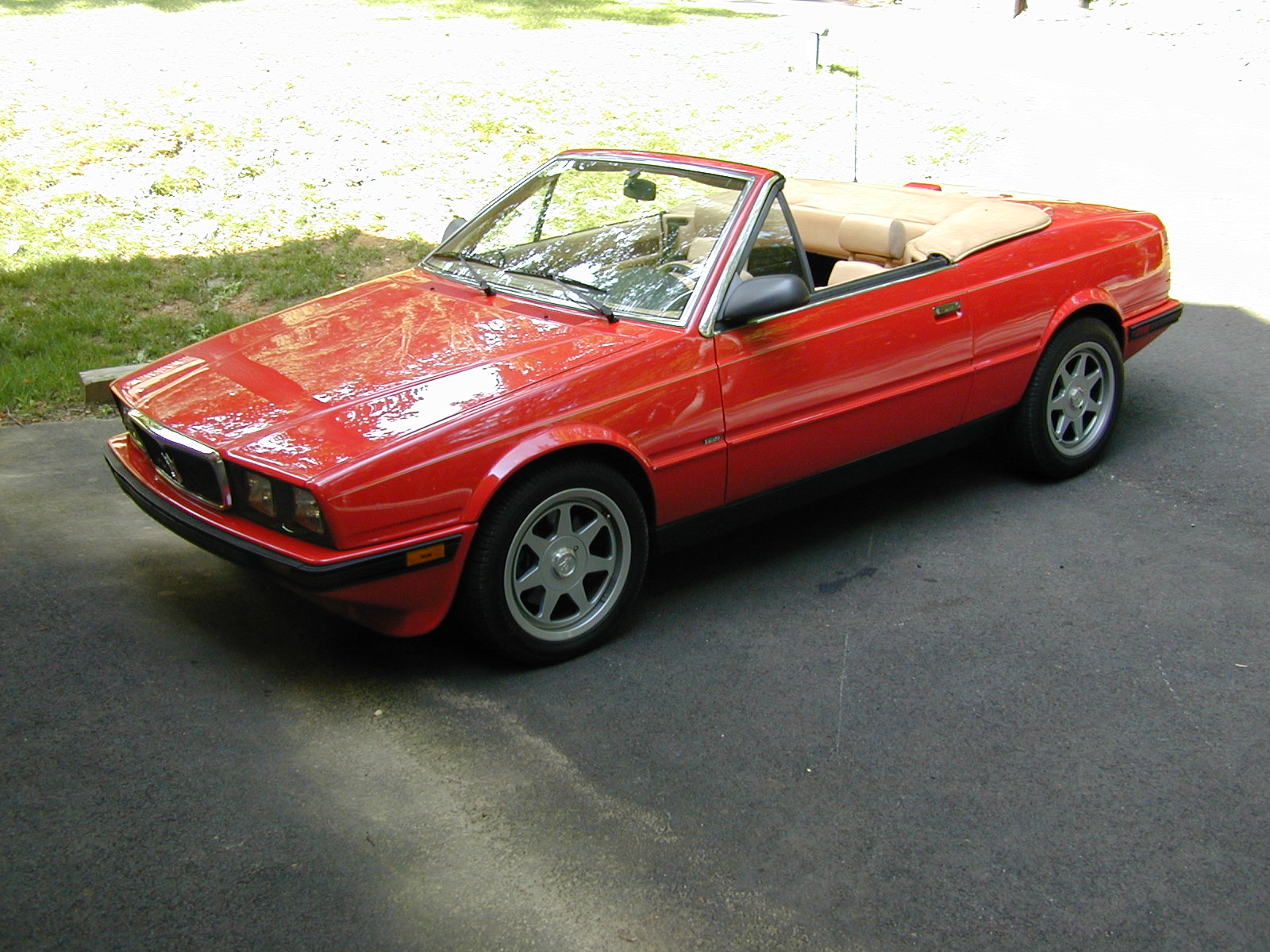 1989 Maserati BiTurbo Spyder