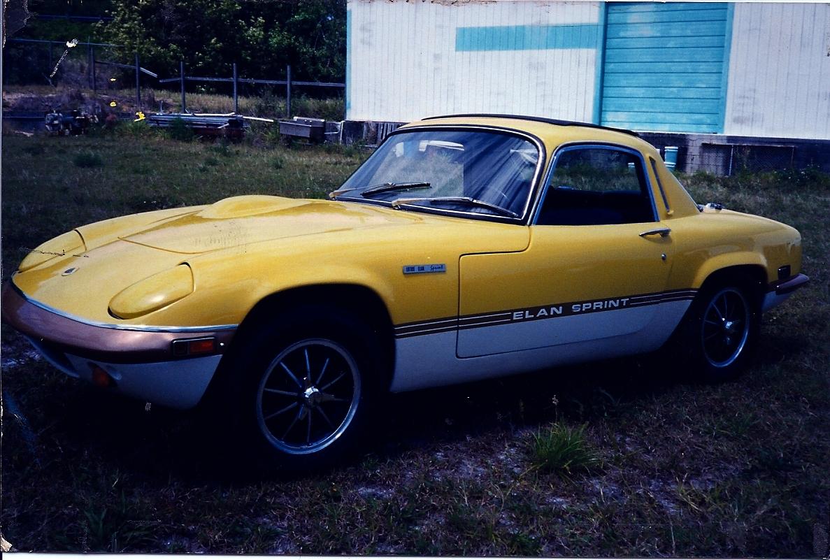 Lotus Elan Sprint Coupe