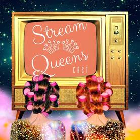 Logo for Stream Queen Podcast