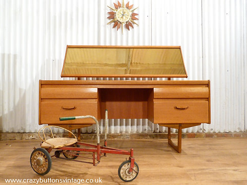 William Lawrence teak dressing table mid century