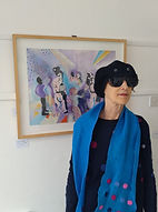 Ros, Singles Party painting, 3 Nov 20.jp