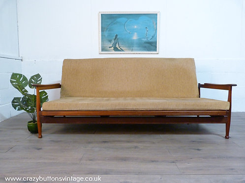Guy Rogers Manhattan teak sofabed daybed