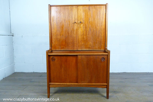 Younger Mid-Century teak drinks cabinet