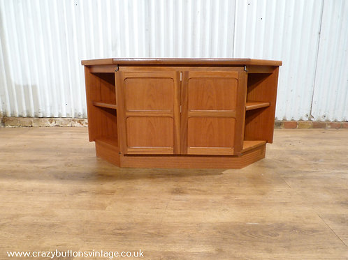 Nathan teak TV stand media unit
