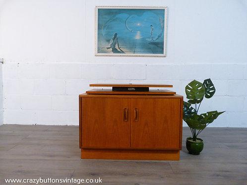 G Plan fresco cupboard Hafele TV stand