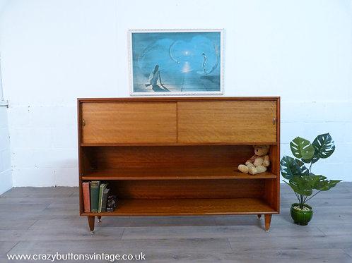 Herbert Gibbs Mid century teak bookcase