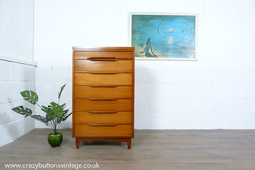 White & Newton chest of drawers tallboy