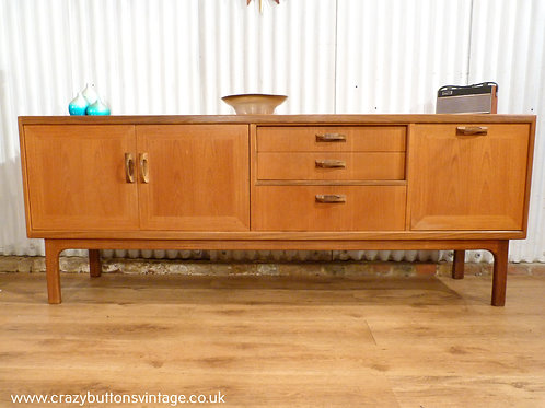 G plan sierra long john teak sideboard