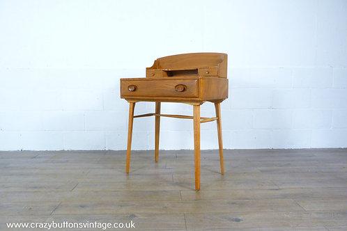 Ercol windsor elm writing desk