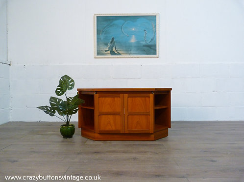 Nathan Mid-Century teak TV stand media unit