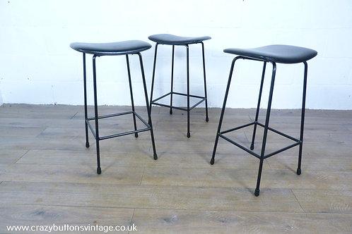 Kandya Frank Guille breakfast bar stool black