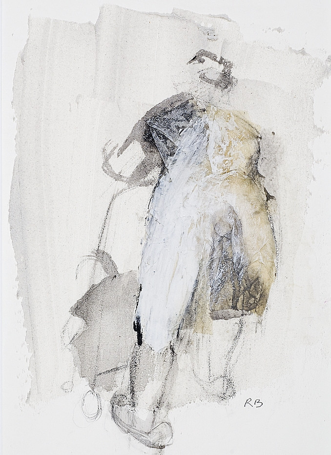22. Mother and child (back view). Acryli