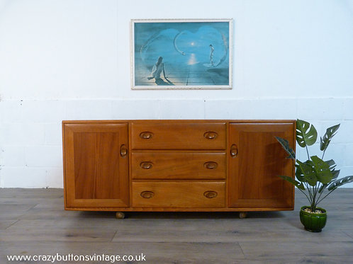 Ercol Windsor Elm low sideboard