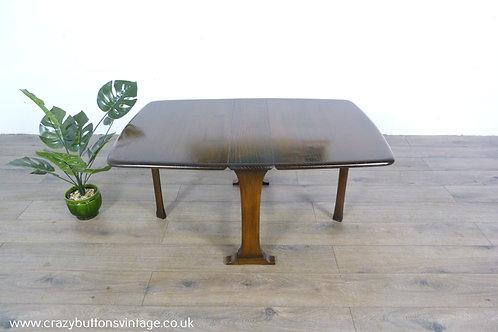 Ercol elm drop leaf coffee table