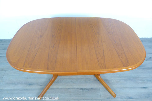 Niels Moller Gudme mobelfabric Danish teak table