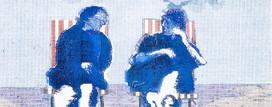 Gossips on a windy beach.jpg