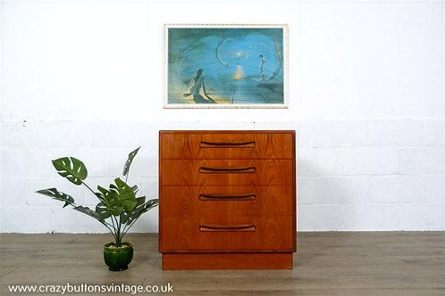 G Plan teak chest of drawers