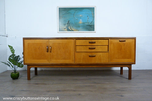 G Plan Sierra teak 7ft sideboard