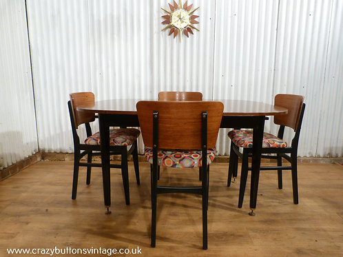 G plan Librenza table and butterfly chairs