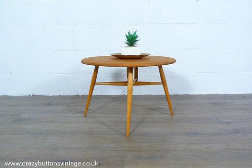 Ercol Windsor 308 elm drop leaf coffee table