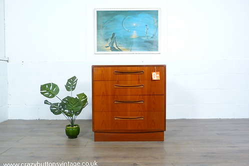 G Plan Fresco teak chest of drawers