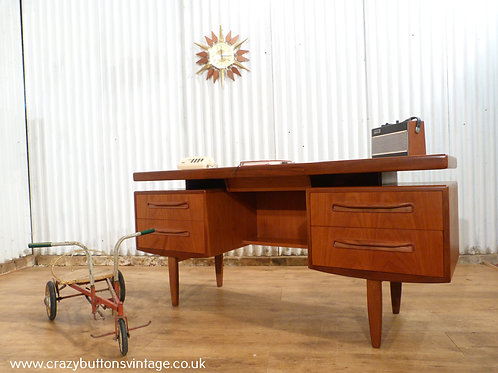G plan fresco teak desk