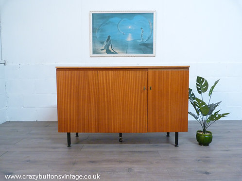 Teak Mid century enclosed desk