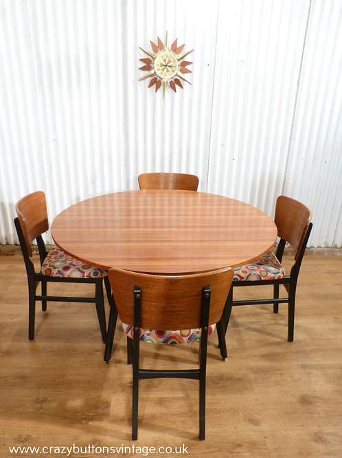 G Plan Librenza table and chairs
