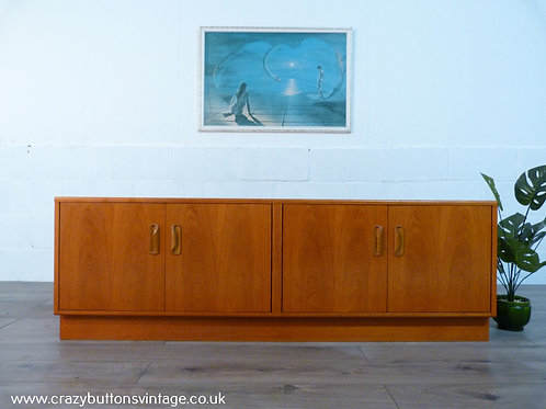G Plan Fresco low teak sideboard
