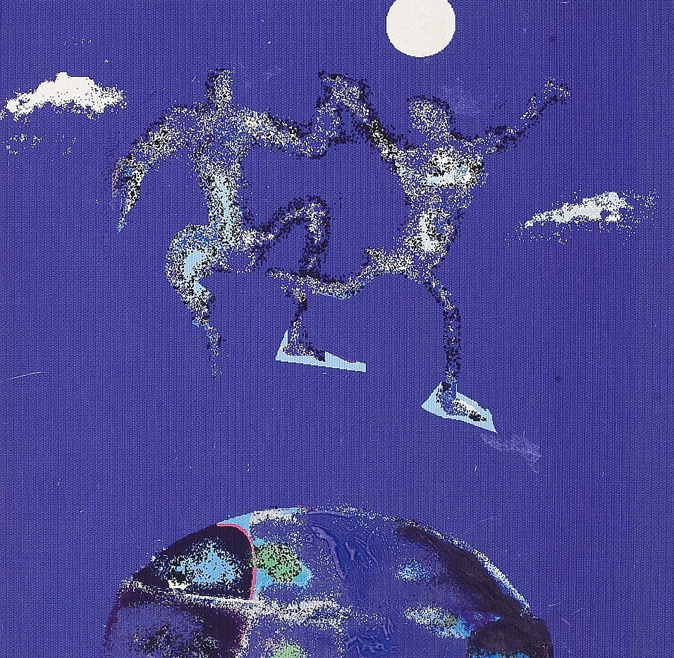On top of the World 1996. Computer print