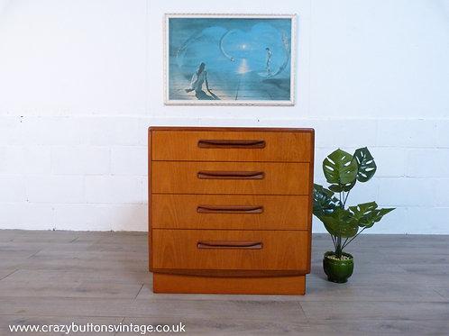 G Plan fresco bedroom drawers