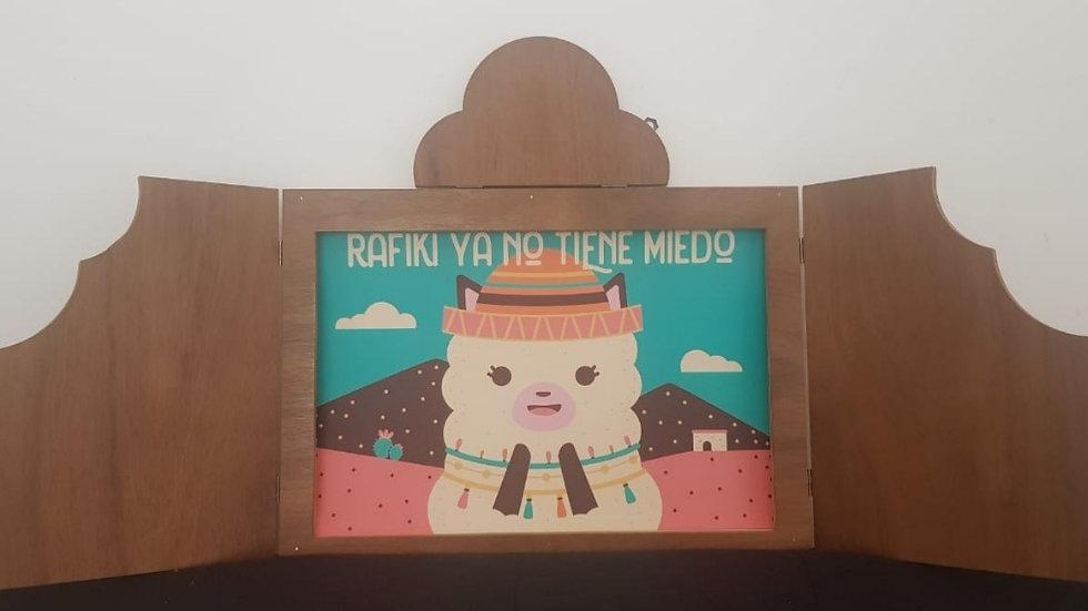 Rafiki ya no tiene miedo - lamina Kamishibai