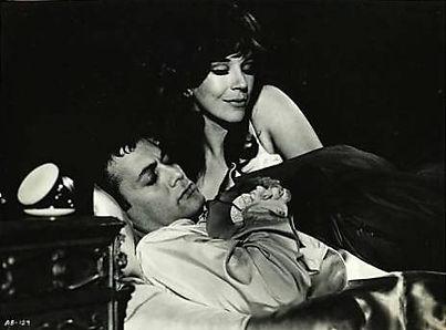 Fenella Fielding in Drop Dead Darling with Tony Curtis (1966)
