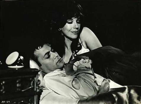 Fenella Fielding in Drop Dead Darling with Tony Curtis (1966)