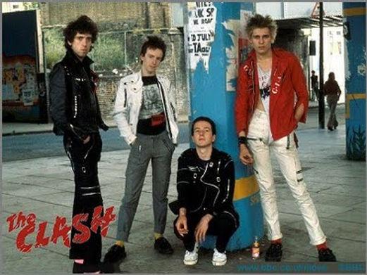 Clash, Westway, Mick Jones, Topper Headon, Joe Strummer, Paul Simonon, Julien Temple, The Future is Unwritten, Sex Pistols, 1977, London Calling, punk, post-punk