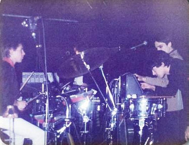 Kissing The Pink, on-stage, Newcastle 1982, Watching Their Eyes, Mr Blunt, The Last Film