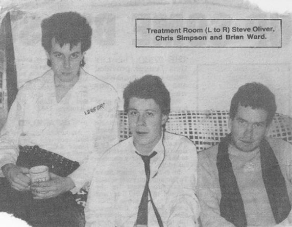 Treatment Room band, Steve Oliver, Chris Simpson, Brian Ward, punk, post-punk
