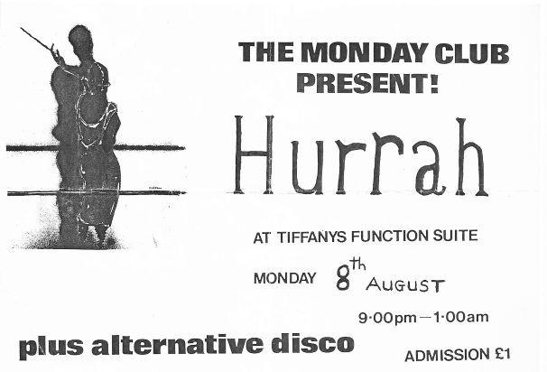 Hurrah! Tiffanys 1983