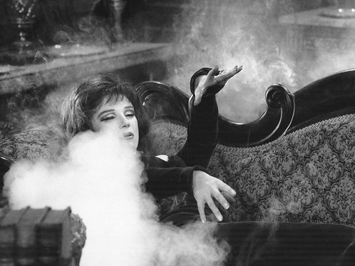 B&W Carry On Screaming smoke