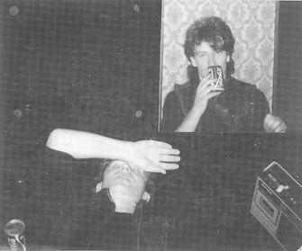 Bono, U2, Backstage at Newcastle Mayfair 1981, U2, Boy, I will follow, post-punk