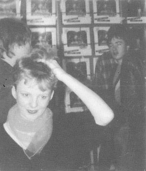 HMV, Newcastle, 1981, Altered Images, Clare Grogan, Dead Pop Stars, Gregorys Girl