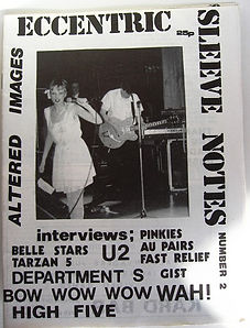 ESN 2, U2, Au Pairs, Pinkies, Fast Relief, Gist, Slits, Altered Images, Wah!, High Five, Department S, Belle Stars, Tarzan 5