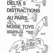 1980-06-19 Delta 5, Distractions, Au Pai