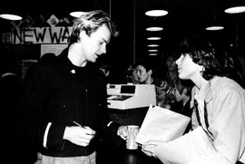 Police in-store appearance, Virgin Records 1979